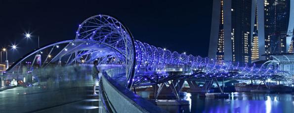 جسر الحلزون سنغافورة في خليج ماريانا 1321583826-main-imag