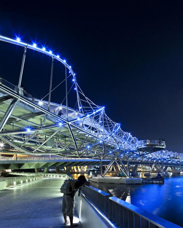 جسر الحلزون سنغافورة في خليج ماريانا 1322614257-201019965